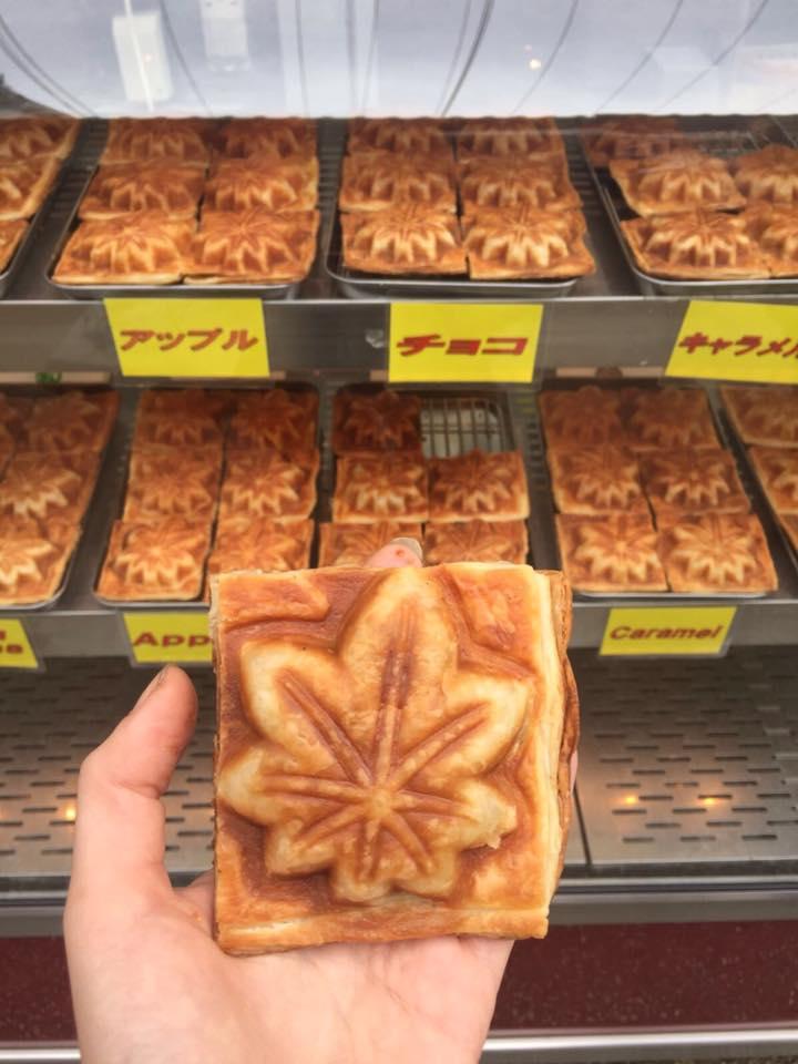 Momiji Manjyu snacks, hiroshima