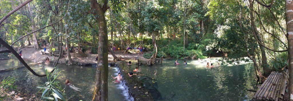 Sai Ngam Hot Springs pai thailand