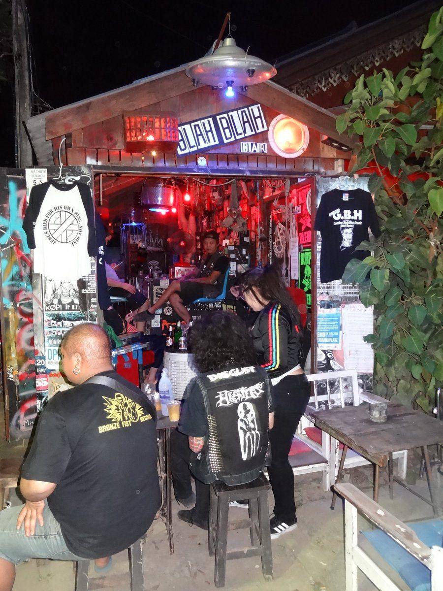 Pai Thailand blah blah bar