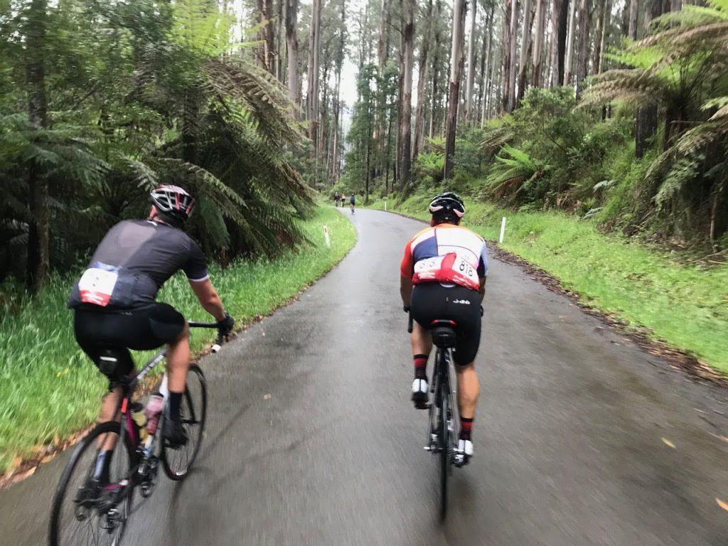 cyclist on the Acheron Way during Giro Della Donna