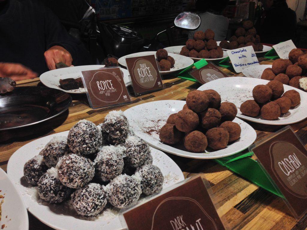 Pai Thailand, truffle stand