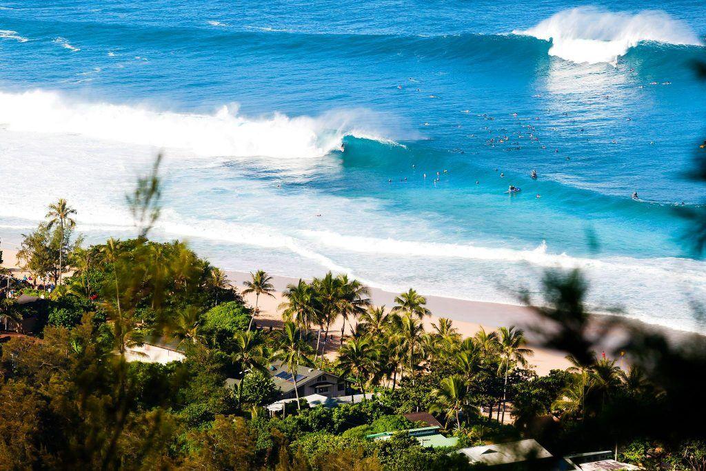 sunny and beautiful Hawaii
