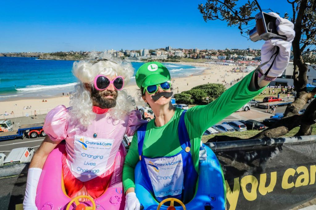 Great costumes at City2Surf in Bondi