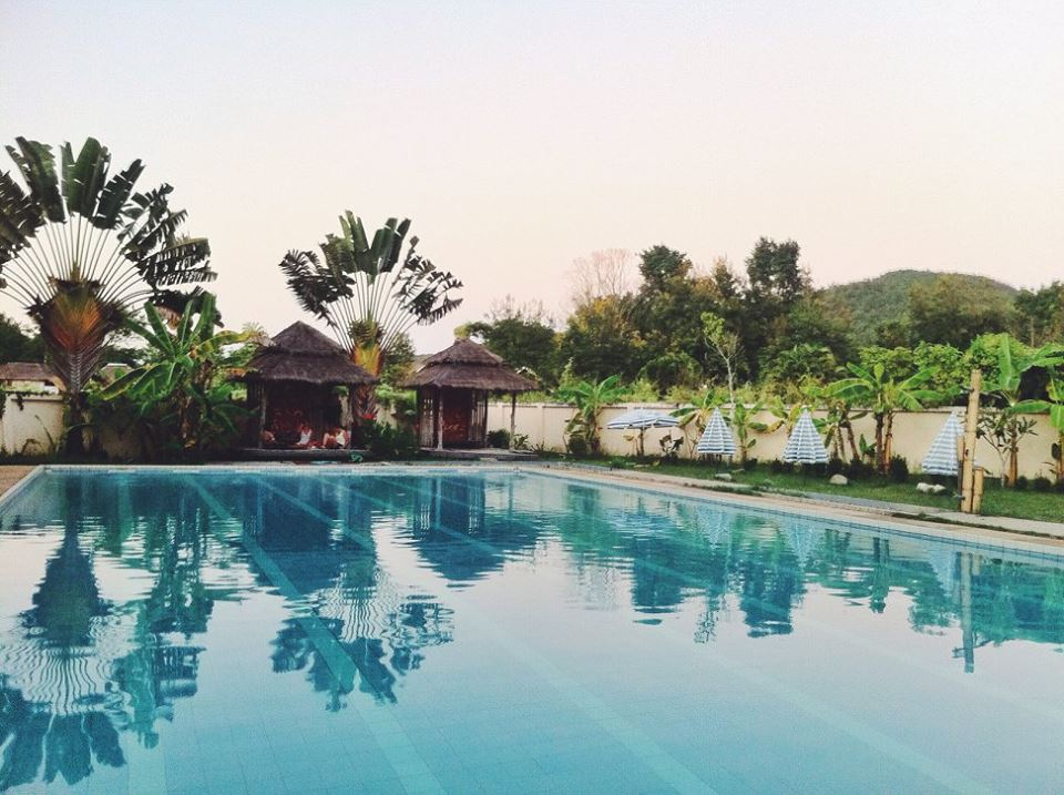 Pai Thailand fluid pool