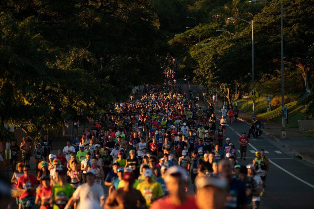 Honolulu Marathon Route