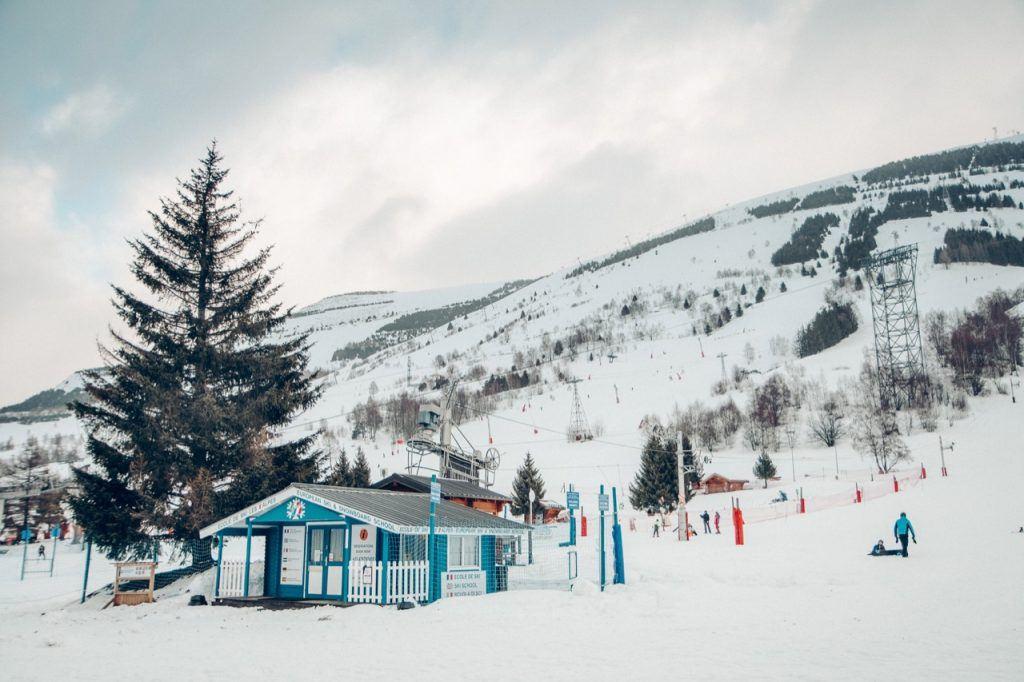 Les Duex Alpes, France