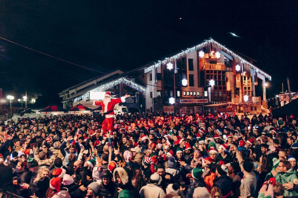 Santa at Rise Festival