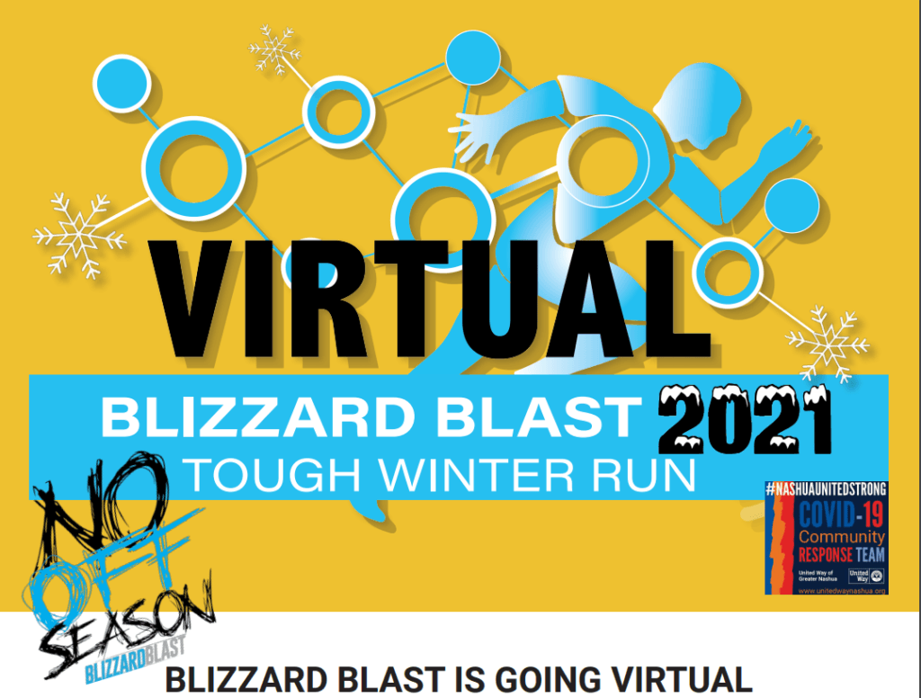 Blizzard Blast 2021 Virtual Tough Winter Run