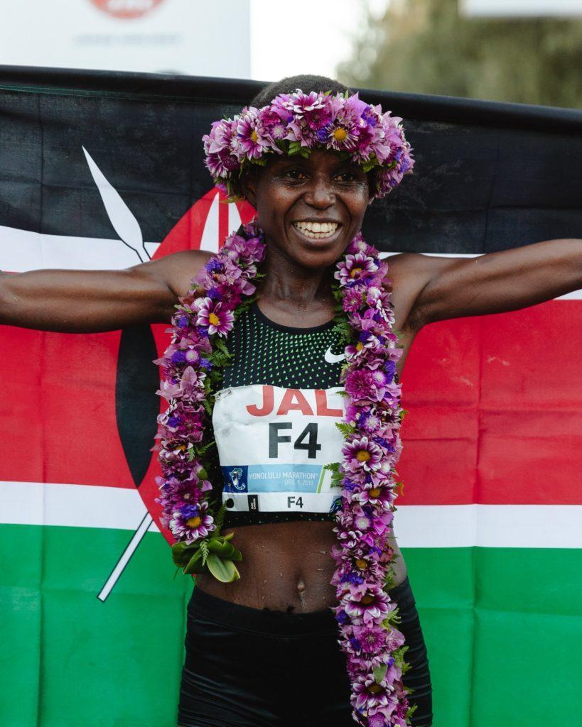 Winning Honolulu Marathon