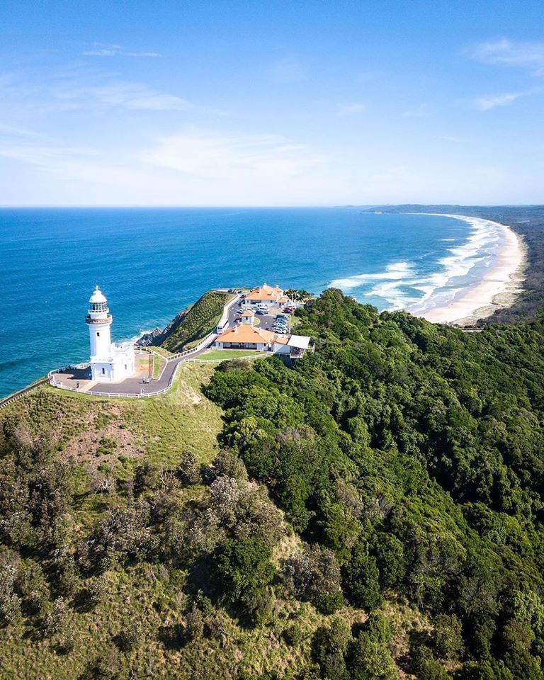 view over Byron Bay Lighthouse