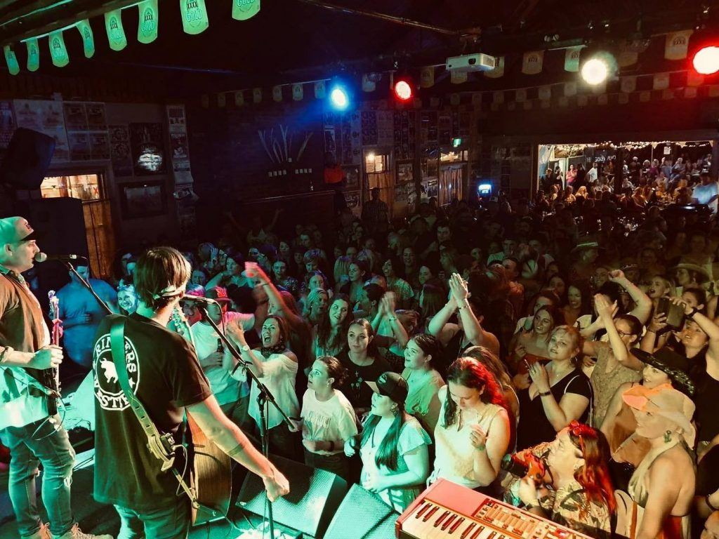 Concert at Julia Creek Dirt n Dust in Australia