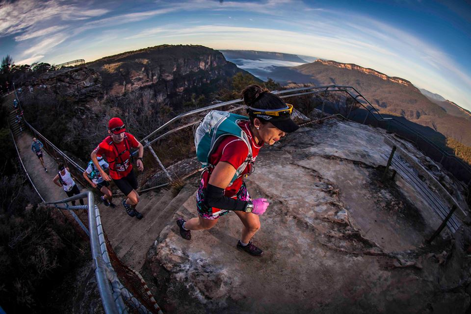 Ultra Trail Australia running race in blue mountains australia