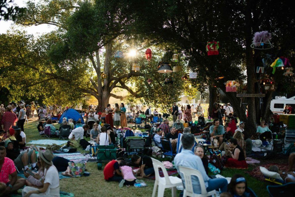 Womadelaide Festival crowd