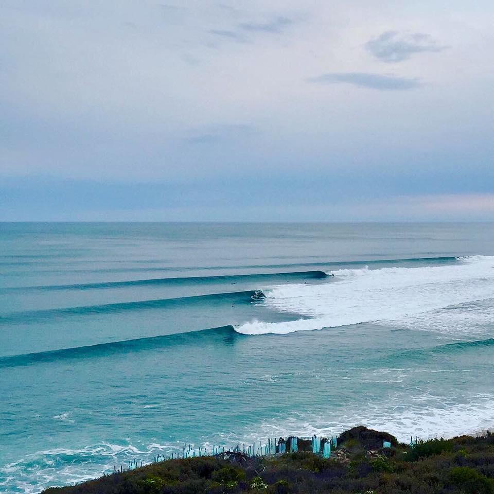 Bells Beach surf line up Torquay, Australia