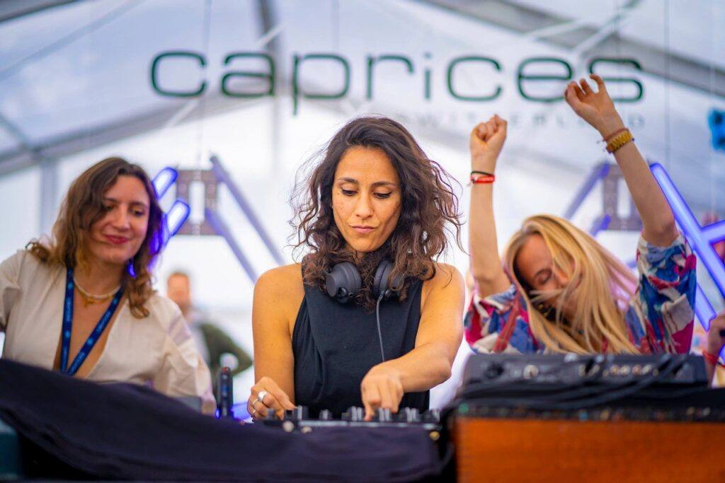 DJ Patricia Olivia at Caprices
