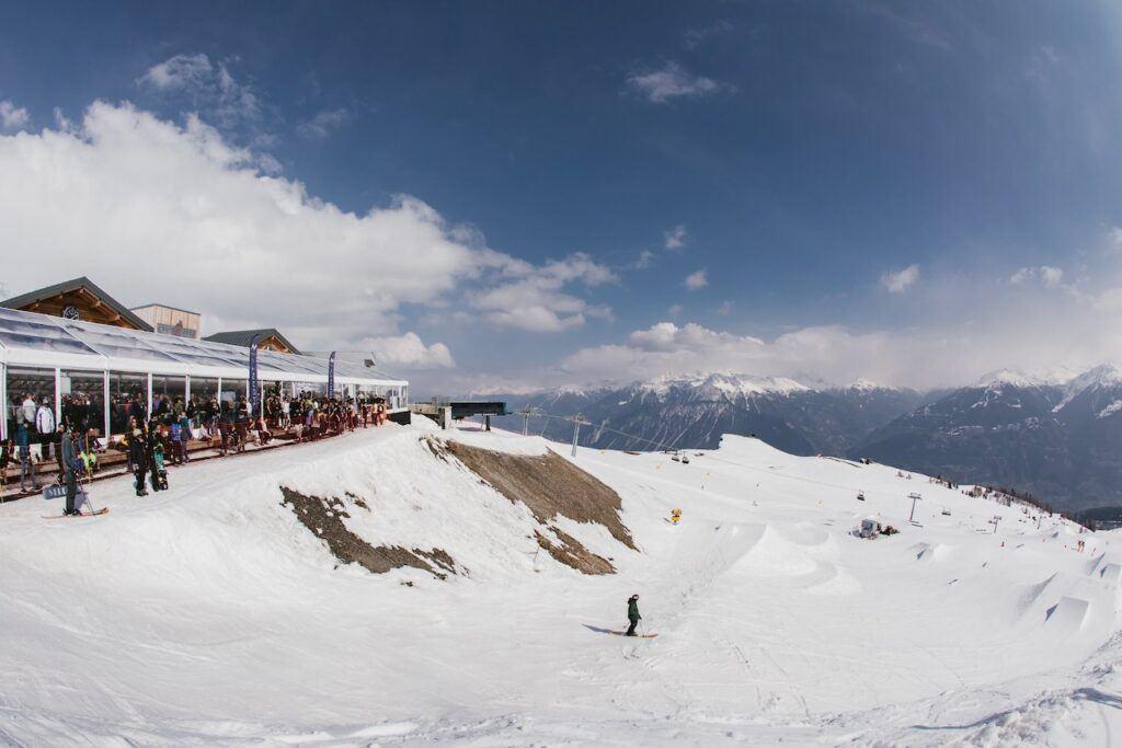 Crans, Switzerland ski resort