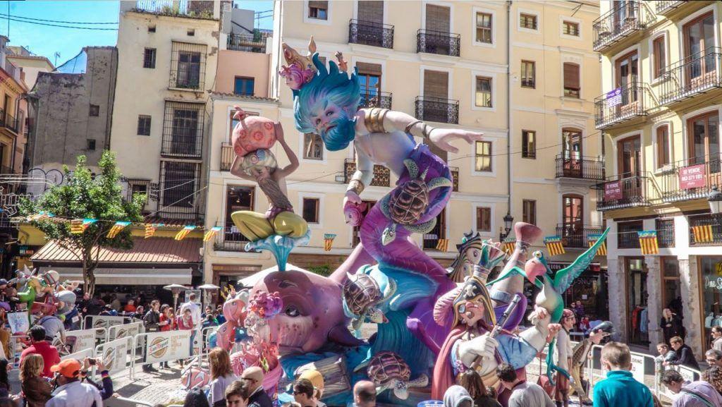 Spanish Festivals Las Fallas in Valencia
