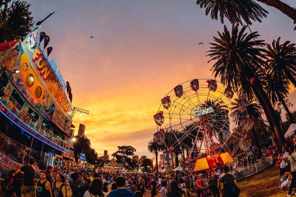 Festivals in March moomba festival
