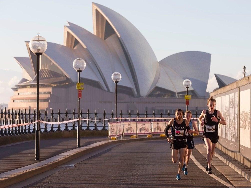 Sydney Harbour 10k past the Opera House