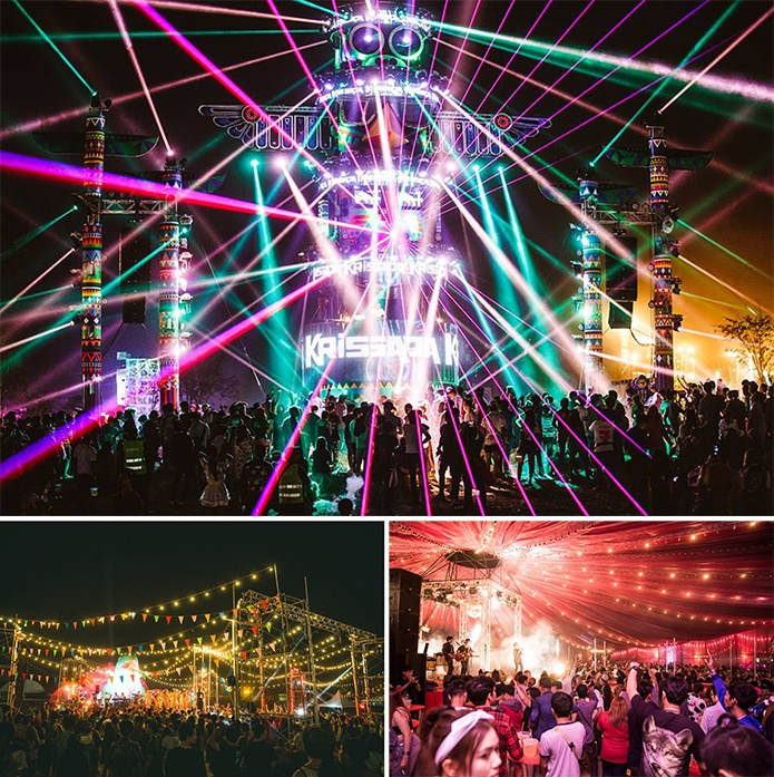 Big mountain music festival Thailand Festivals