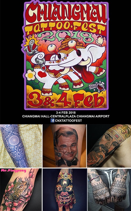 Chiang Mai Tatto Fest Thailand Festivals