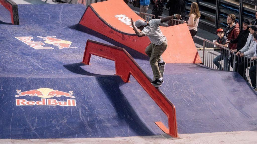 session session skate comp backside nose grind