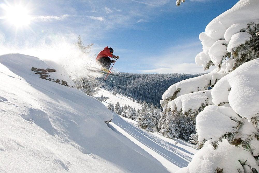 Vail Colorado skiing Blue Sky Basin