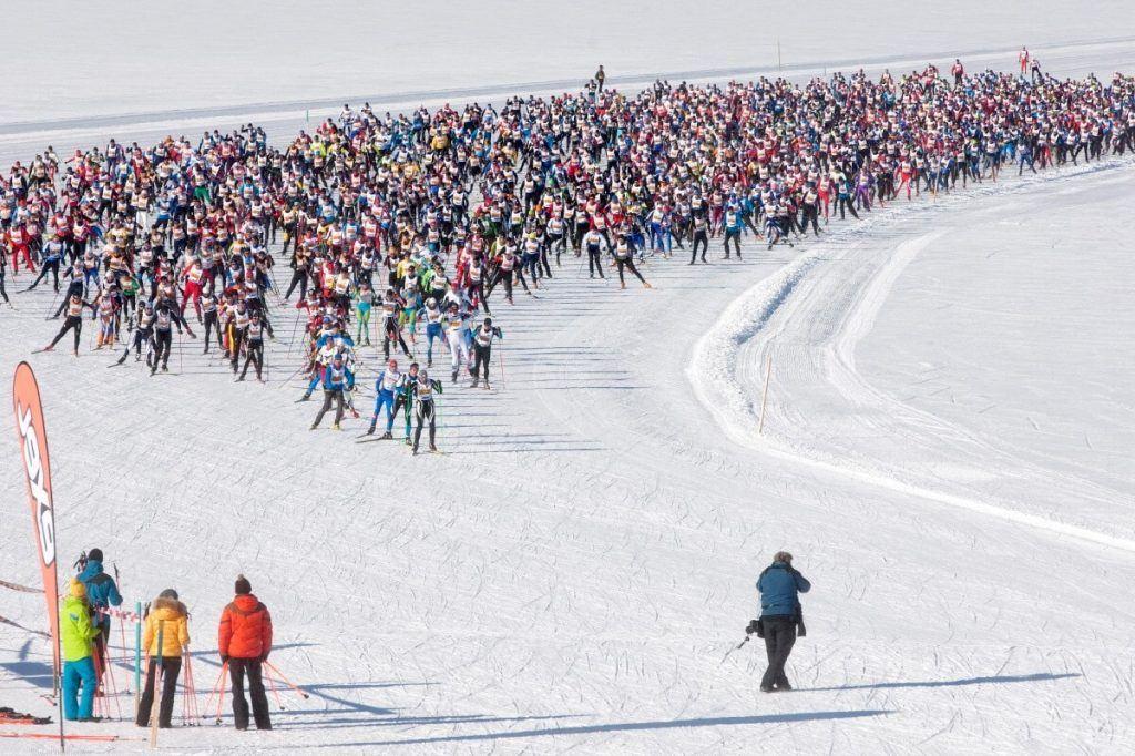 Engadine Ski Marathon Festivals In Switzerland