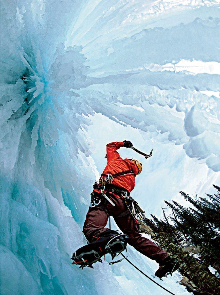 Climbing Photography ice climbing