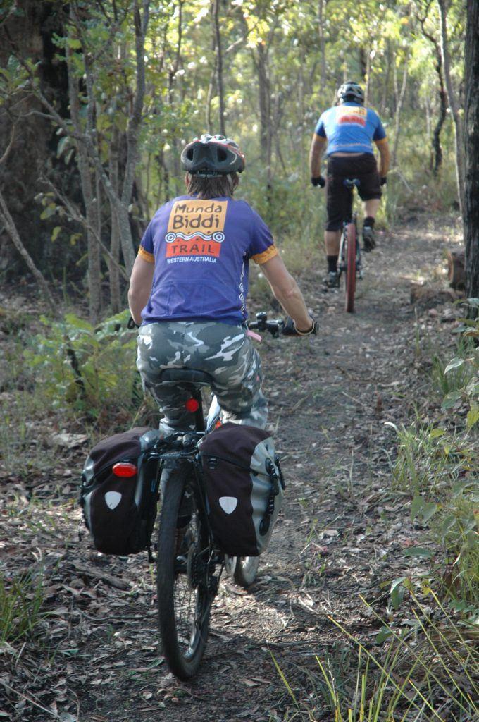 Munda Biddi mountain biking trails in Australia