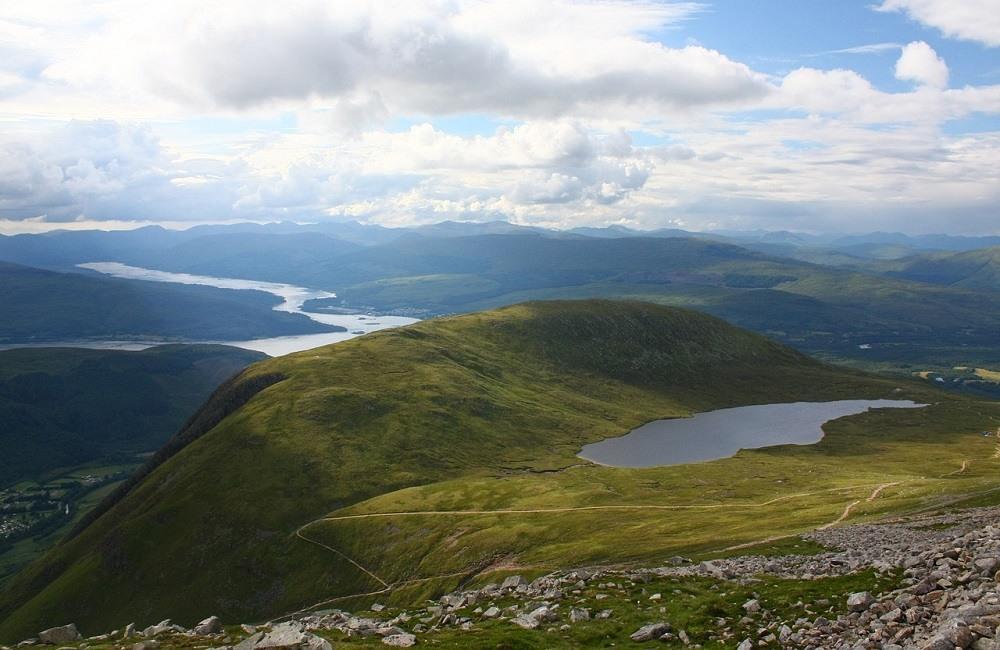 Hiking in Europe Scotland