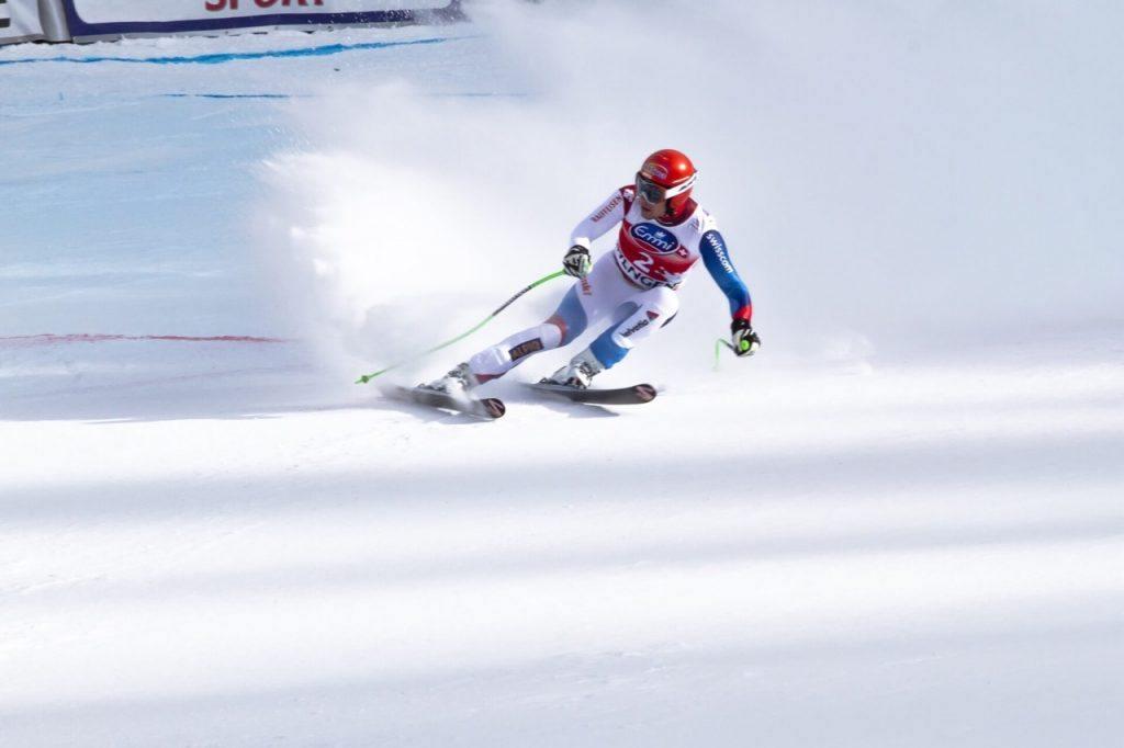 Skiing at Lauberhorn Festivals In Switzerland