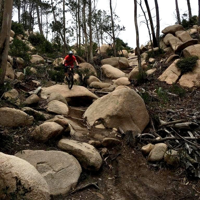 Weride sintra Torgas mountain biking the Rock Garden