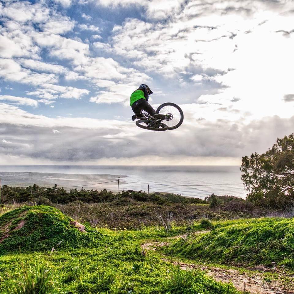 Weride mountain biker in Sintra