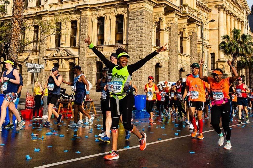 Fun at the Cape Town Marathon