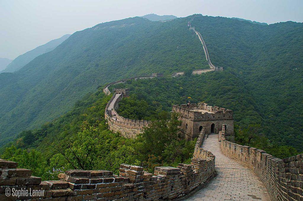 From Jiankou Great Wall to Mutianyu
