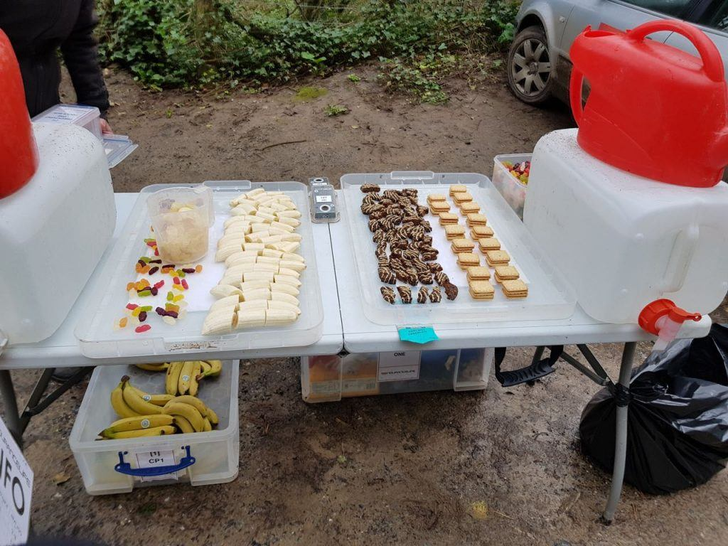 Endurancelife food and drink checkpoint