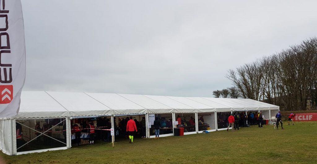 Endurancelife registration tent