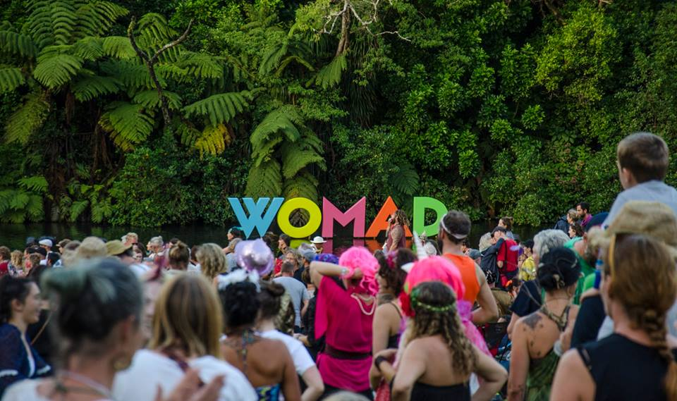 WOMAD New Zealand crowd looking on