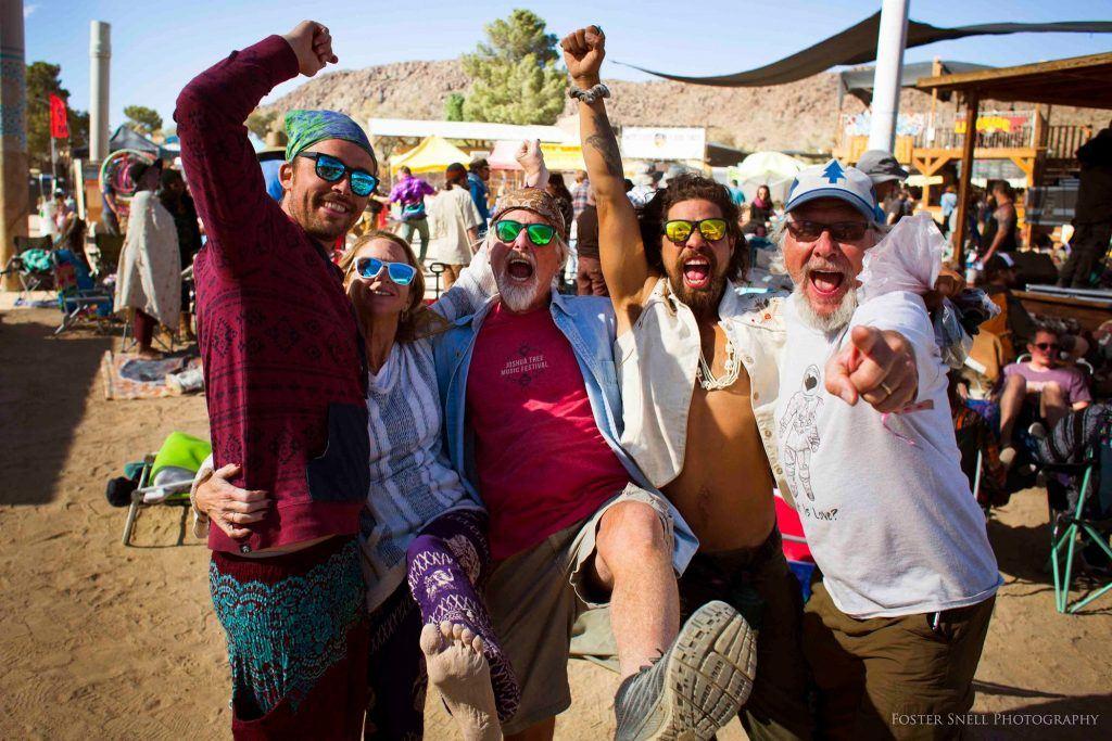 So much fun at the festival in California