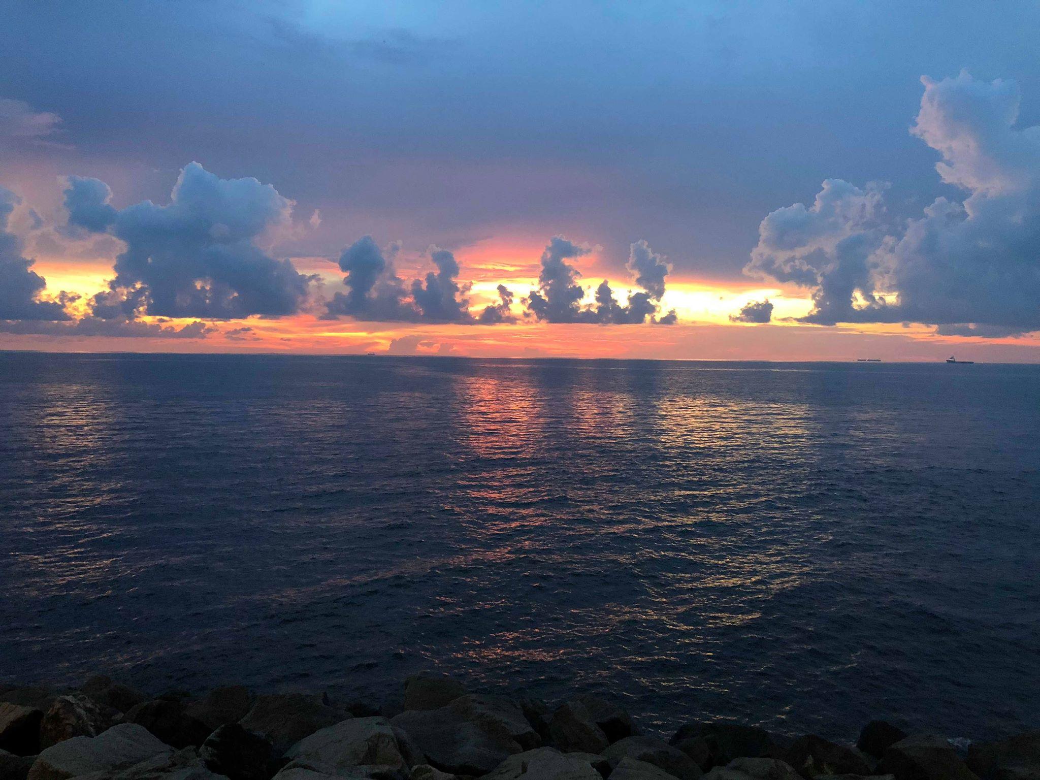 Sarawak Borneo sunset