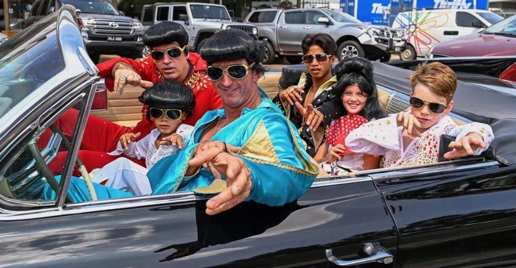 Elvis fans at Parkes Festival