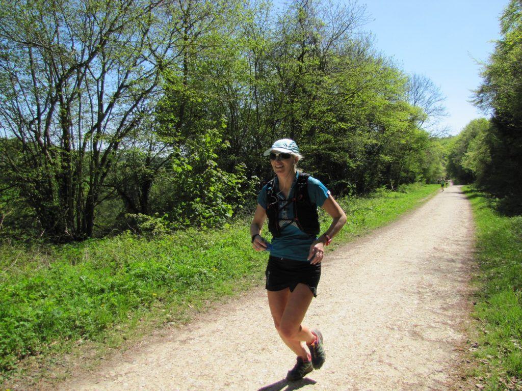 XNRG Devil's Challenge female runner