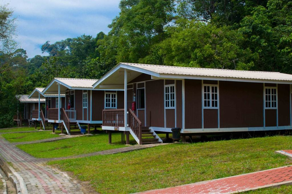Sarawak Borneo camping