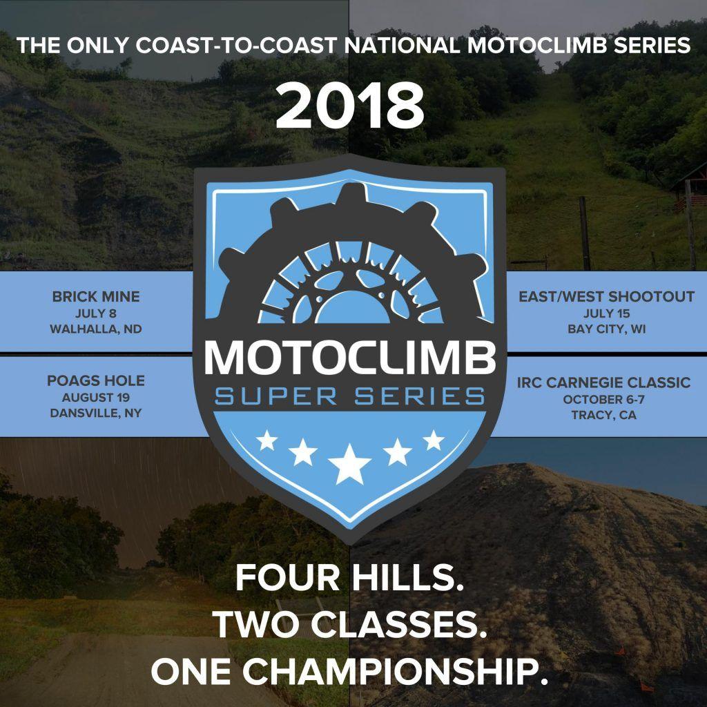 Motoclimb Super Series Calendar