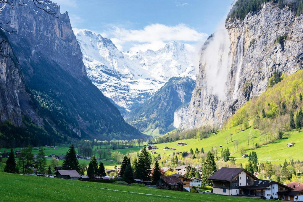 Best Places To Skydive in Switzerland