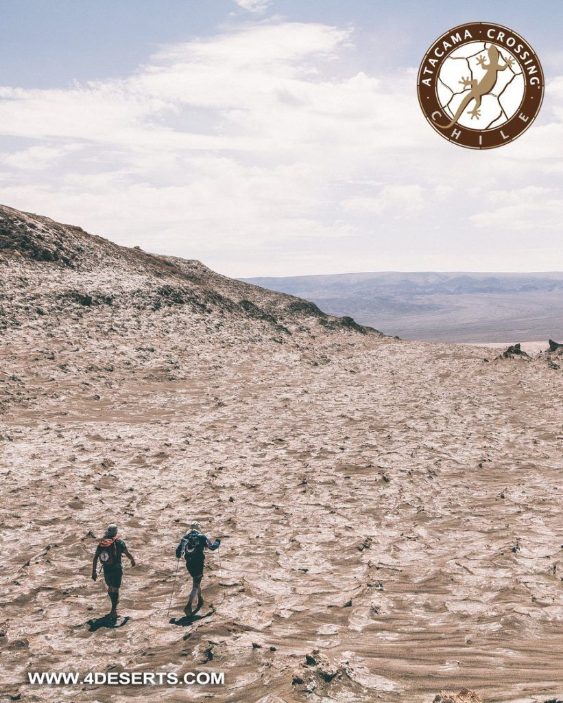 variety of terrain at the Atacama Crossing