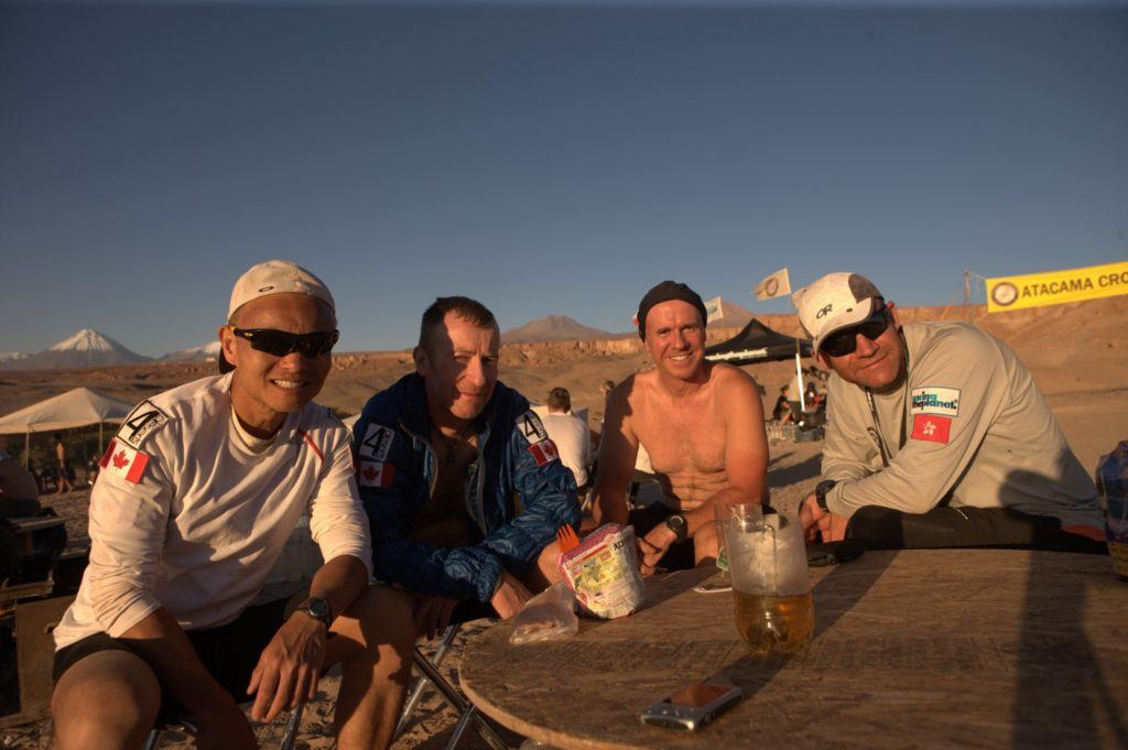 Dinner at the Atacama Crossing in Chile