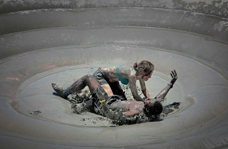 mud fight
