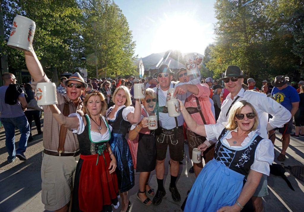 Fun at the Breckenridge Oktoberfest